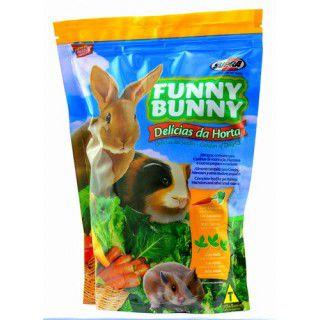 Ração Funny Bunny Delicias Horta 500g