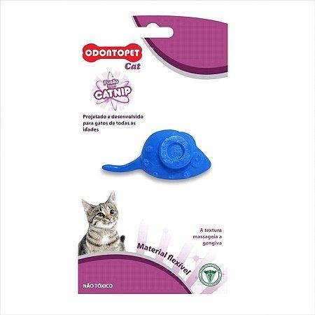 Brinquedo Odontopet Gato Mouse Com Catnip