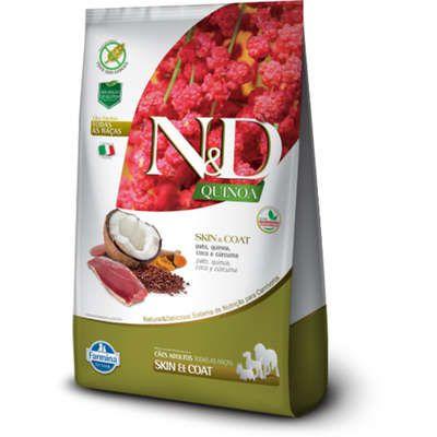 Ração N&D Quinoa Cão Adulto Skin & Coat Pato 2,5kg