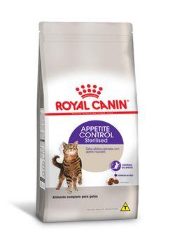 Ração Royal Canin Gato Adulto Castrado (Sterilised) Appetite Control 400g