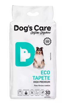 Tapete Higiênico Dog's Care Eco Tapete High Premium Com 30 Unidades