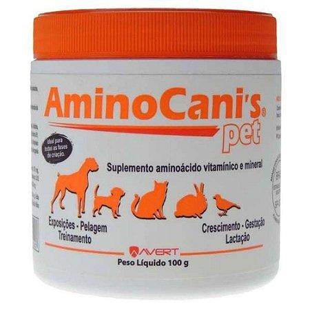 Suplemento Vitamínico Amino Canis Pet 100g