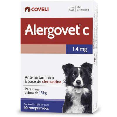 Antialérgico Alergovet C 1,4mg