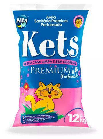 Areia Kets Premium Perfumada 12kg