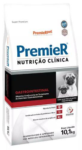 Ração Premier Nutrição Clínica Cão Raça Pequena Gastrointestinal 10,1kg