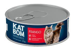 Lata Katbom Gato Frango 170g