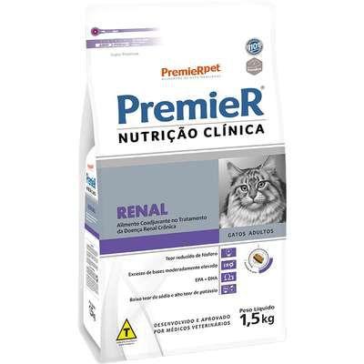 Ração Premier Nutrição Clínica Gato Renal 1,5kg