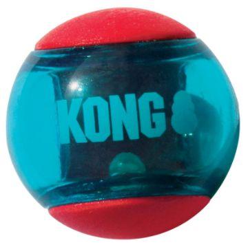 Brinquedo Interativo Kong Squeezz Action Ball Red Medium