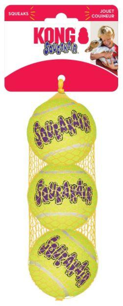 Brinquedo Funcional Kong Squeakair Tennis Balls Small