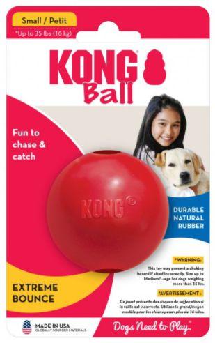 Brinquedo Funcional Kong Ball With Hole Small