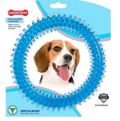 Brinquedo Odontopet Dentalbone Argola Azul Até 15kg