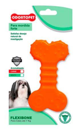 Brinquedo Odontopet Flexibone Flat Para Cão Até 7kg