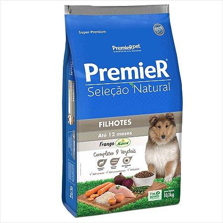Ração Premier Seleção Natural Cão Filhote Frango Korin 10,1kg