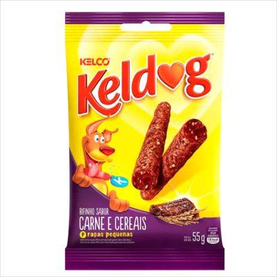 Bifinho Keldog Carne e Cereais 55g