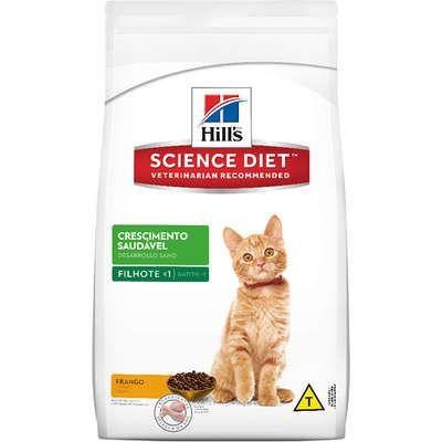 Ração Hill's Science Diet Gato Filhote Crescimento Saúdavel 1,5kg