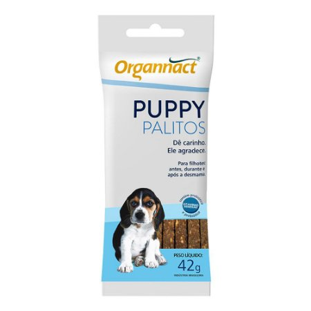 Palitos Organnact Sache Puppy 42g