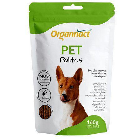 Palitos Organnact Pet 160g