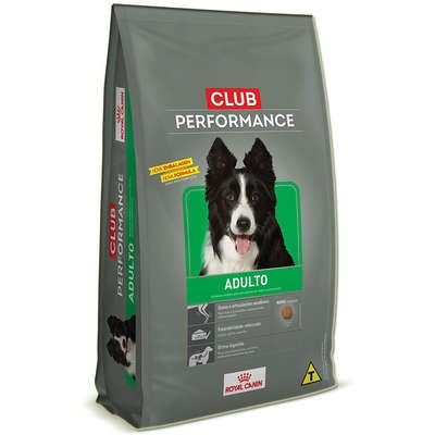 Ração Royal Canin Cão Adulto Club Performance 15Kg