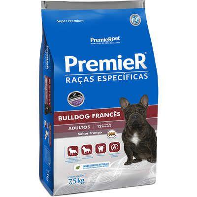 Ração Premier Raças Especificas Bulldog Frances Adulto 7,5kg