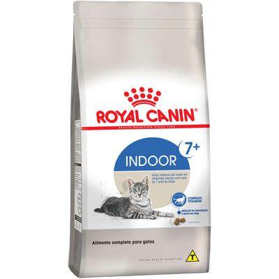 Ração Royal Canin Gato Adulto Indoor +7 400g
