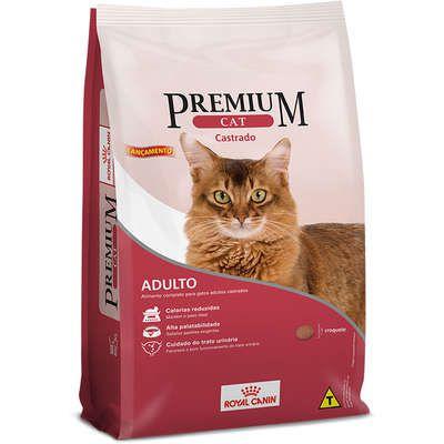 Ração Royal Canin Premium Gato Adulto Castrado 1kg