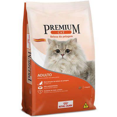 Ração Royal Canin Premium Cat Gato Adulto Beleza da Pelagem 1kg