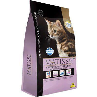 Ração Matisse Gato Adulto Castrado Cordeiro 2kg