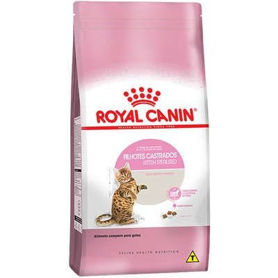 Ração Royal Canin Gato Filhote Castrado (Sterilised Kitten) 4kg
