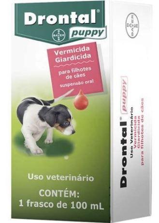 Vermifugo Drontal Puppy 100ml