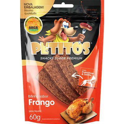 Bifinho Petitos Frango 60g