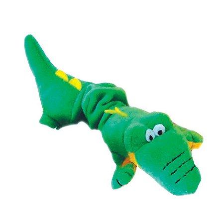 Brinquedo Chalesco Crocodilo de Pelúcia