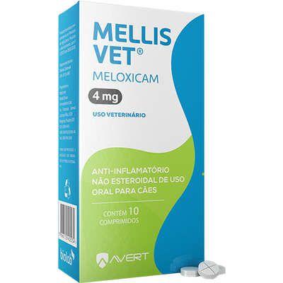 Anti-Inflamatorio Mellis Vet Cão 30 A 40kg 4mg