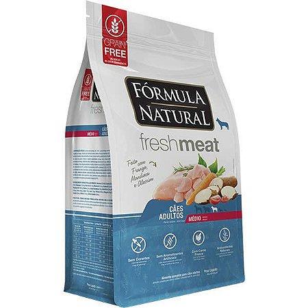 Ração Fórmula Natural Fresh Meat Cão Adulto Raça Média 12Kg