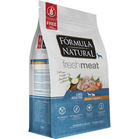 Ração Fórmula Natural Fresh Meat Cão Adulto Raça Grande e Gigante 2,5Kg