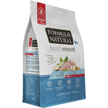 Ração Fórmula Natural Fresh Meat Cão Filhote Raça Média 2,5Kg