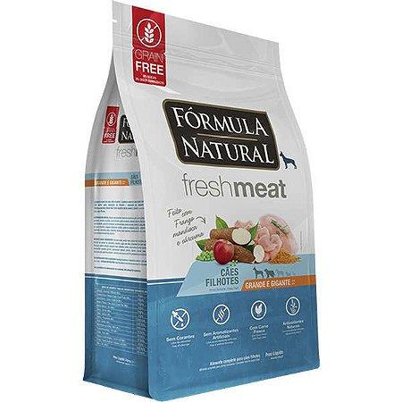 Ração Fórmula Natural Fresh Meat Cão Filhote Raça Grande e Gigante 12Kg