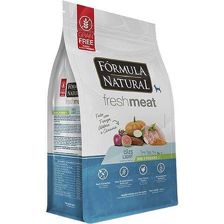 Ração Fórmula Natural Fresh Meat Cão Adulto Light Raça Mini e Pequena 1Kg