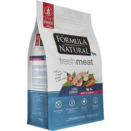 Ração Fórmula Natural Fresh Meat Cão Sênior Raça Média e Grande 12Kg