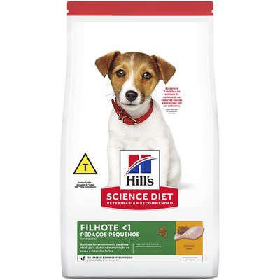 Ração Hill's Science Diet Cão Filhote Pedaços Pequenos 800g