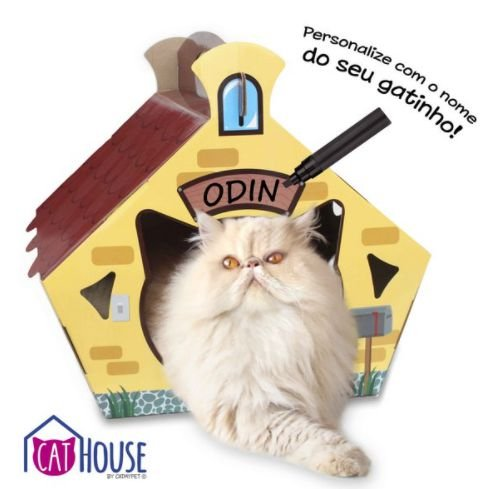 Cat House Cat My Pet Casinha Para Gatos