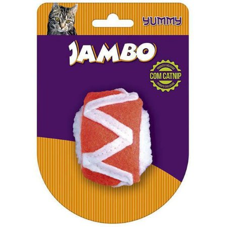 Brinquedo Jambo Food Gato Yummy Sushi