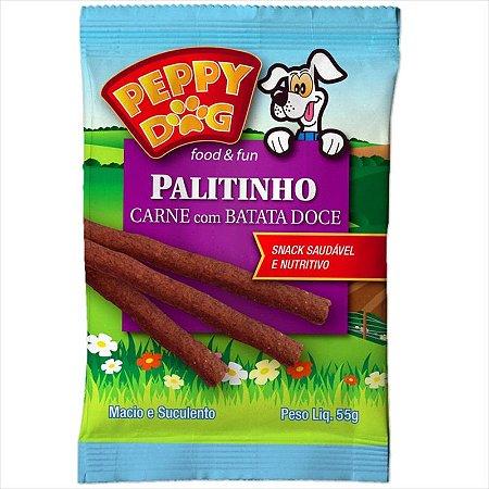 Palitinho Peppy Dog Carne com Batata Doce 55g