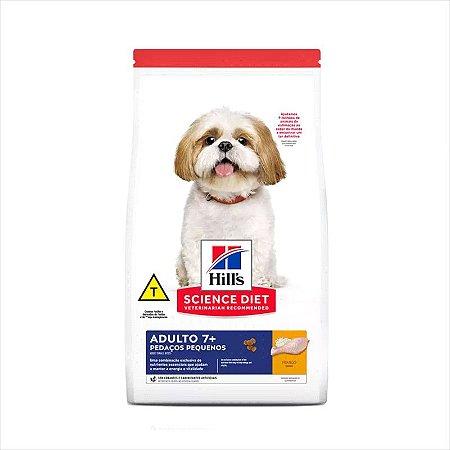 Ração Hill's Science Diet Cão Adulto Raças Pequenas 7+ 2,4Kg