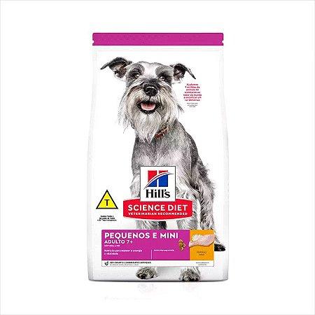 Ração Hill's Science Diet Cão Adulto Raça Pequena e Mini +7 800g