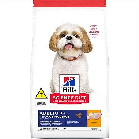 Ração Hill's Cão Adulto +7 Pedaços Pequenos 800g