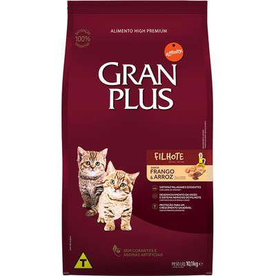 Ração Gran Plus Gato Filhote Frango e Arroz 10,1Kg