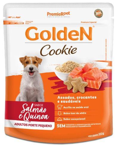 Cookie Golden Cão Adulto Salmão e Quinoa 350g