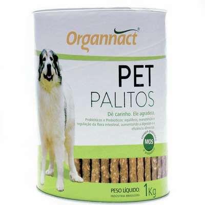 Organnact Palitos Pet Lata 1kg