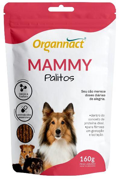 Organnact Mammy Dog Palitos 160gr