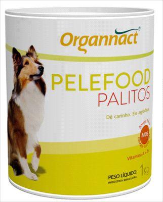 Palitos Organnact Pelefood Lata 1kg